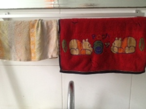Chinese hand/bath towels