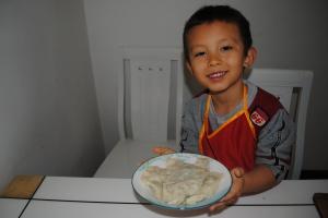 Chinese New Year Chinese dumplings